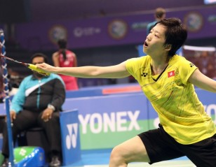 Cheung Knocks Out Marin – Day 4: Yonex-Sunrise India Open 2018