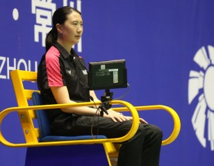 Lu Lan Warms Up to Umpiring Role