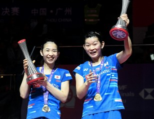 Back on Top – Doubles Finals: HSBC BWF World Tour Finals