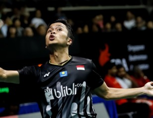 Ginting Through; Christie Falls – Singapore Open: Day 4