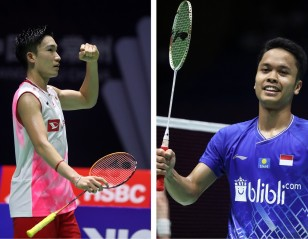 Momota vs Ginting II – China Open: Day 5