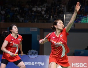 Kim/Kong Outplay Compatriots – Korea Open: Finals