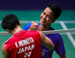Ginting Ends Momota's Streak – French Open: Day 4