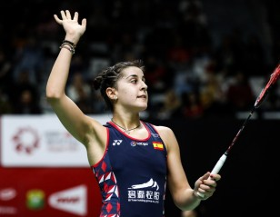 Emotions Set Aside, Marin Makes Winning Return at Indonesia Masters