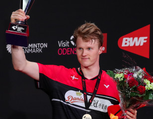 Denmark Open: Gemke Heroic in Defeat to Antonsen