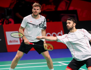 Denmark Open: Ellis/Langridge Hold Off Young Danes