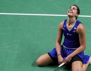TOYOTA Thailand Open: Carolina Marin Just Two Good!