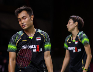 Swiss Open: Faizal/Widjaja Crash Early